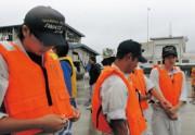 海洋関連校への教習艇支援